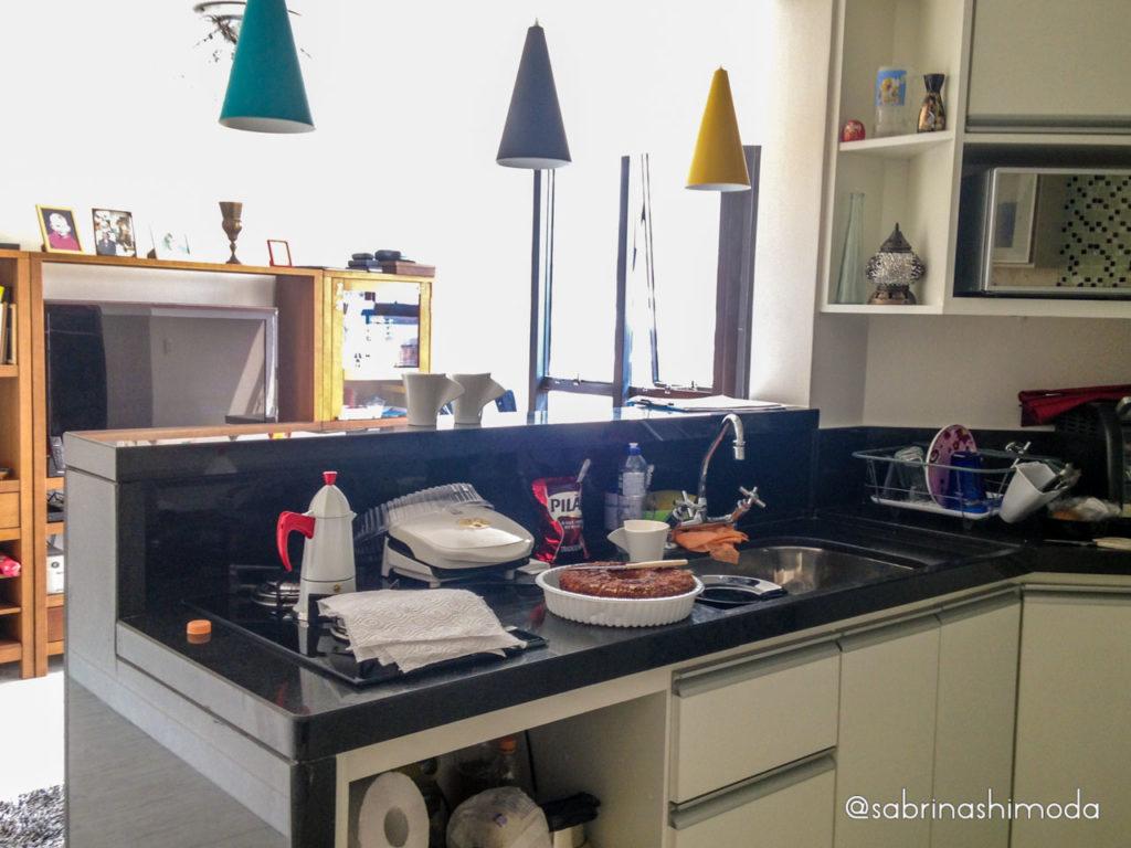 Cozinha Americana e Sala