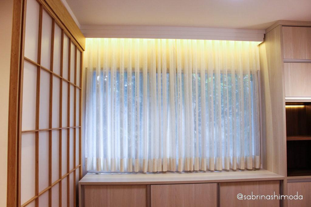 Sala de Meditação com Portas Shojis