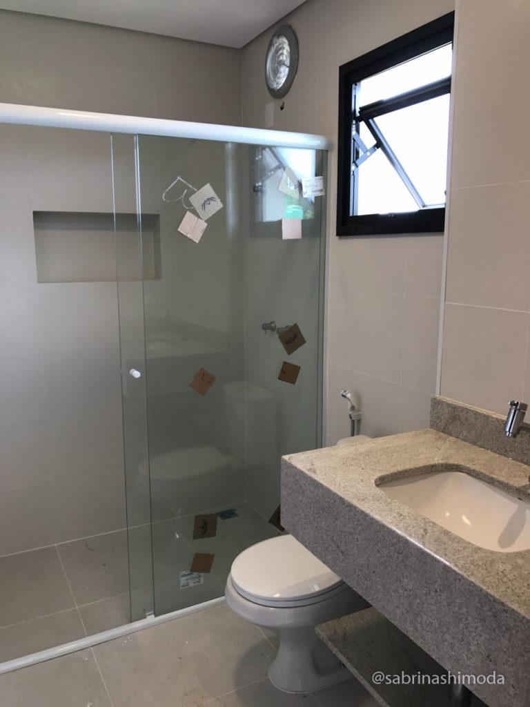 Banheiro das Suítes