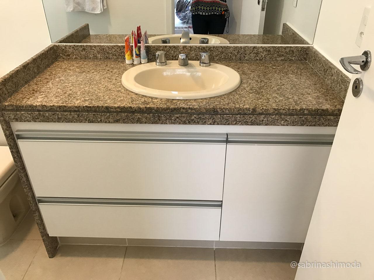 Banheiro 01 - Novo Gabinete
