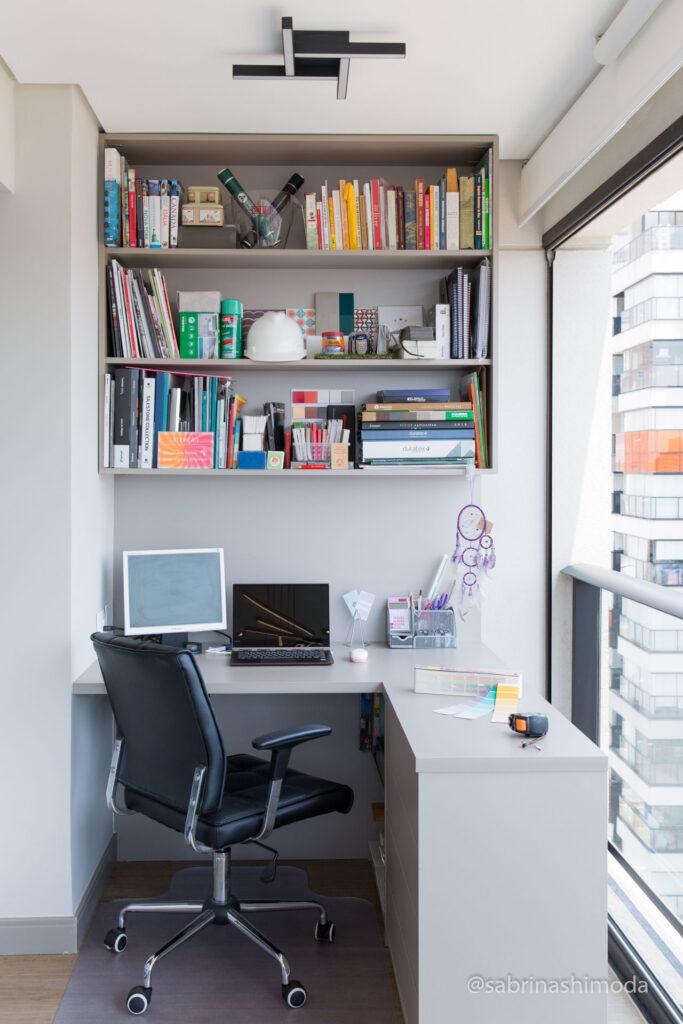 Home Office no Terraço