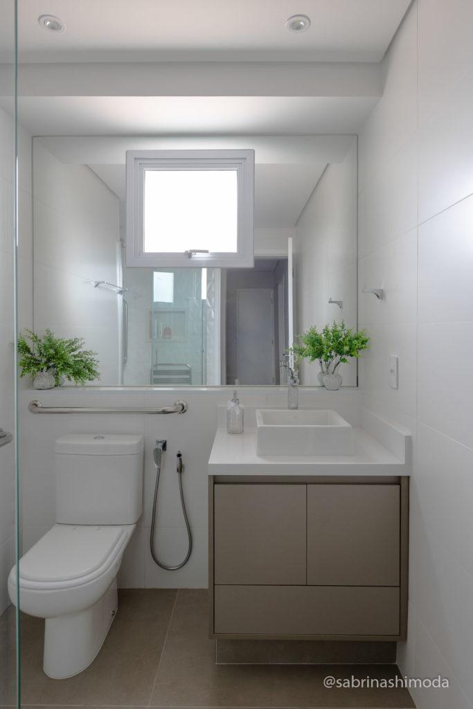 Banheiro Social (com acessibilidade)